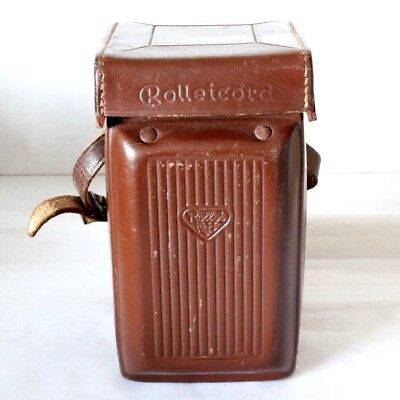 Rolleicord TLR Va & Vb Brown Ever-ready Leather Case