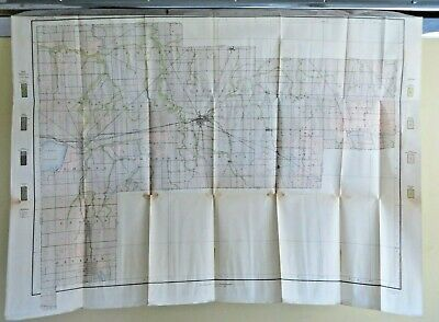 1909 Antique Color Map Auglaize County Ohio New Bremen Fryburg 34 X 25 #0381