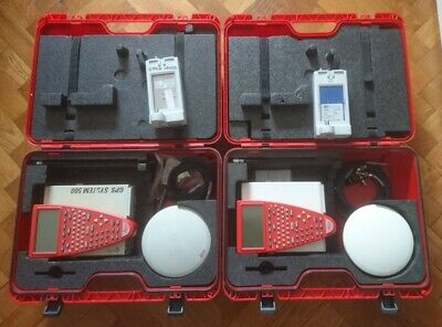 Leica GPS500 Systems SR530 TR500 AT502 (x2). Base and Rover. Tripods. GLS30 Pole