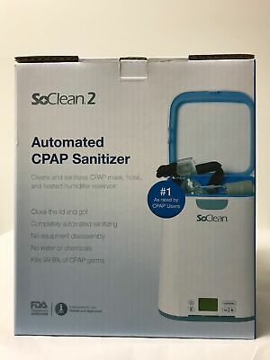 SoClean 2 Automated CPAP Equipment Cleaner and Sanitizer Machine SC1200 NEW