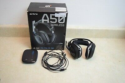 Astro A50 Wireless Gaming Headset 2nd Generation For PS4, PS3, PC, MAC