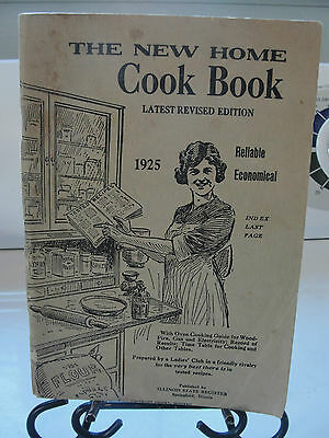 The New Cook Home Buch, 1925, Damen Club, Illinois State Register, Alt, Vintage