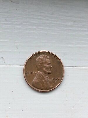 1959-D Lincoln Memorial Cent Penny - MS GEM CHOICE BU UNC RED RD COPPER