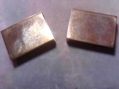 TWO Vintage S. Kirk & Son Sterling Silver Match Safe Cover