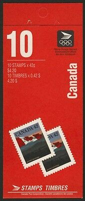 Canada 1356a Booklet BK137b MNH Flag over Hill