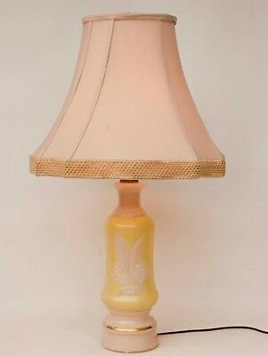 Vintage Aladdin Alacite Glass Electric Lamp