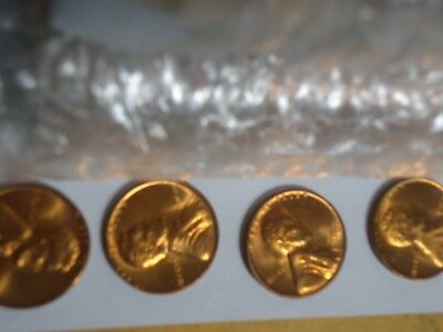 1960-P Large Date Roll Bu Lincoln Pennies#3