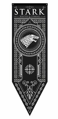 """Game of Thrones House Stark Tournament Banner, 18""""x 60"""""""