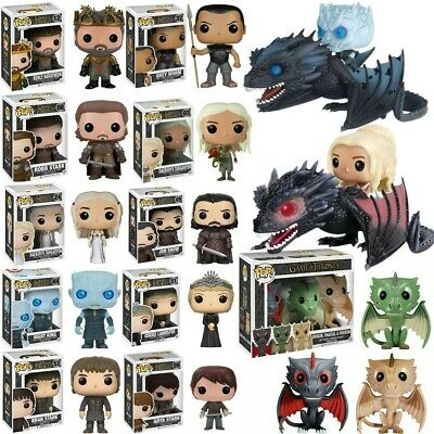 Funko Pop Game Of Thrones 8 Vinyl Figure Collectable Kid Toy Xmas Gift In Box 01