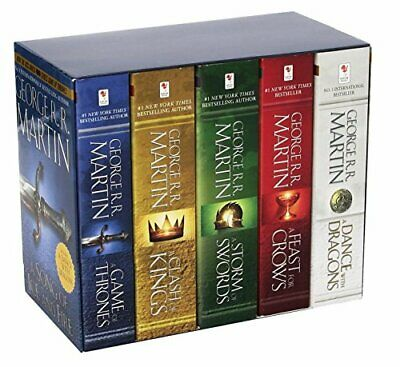 George  Martin's A Game of Thrones 5 Livres Boxed Song of Ice and Fire Series