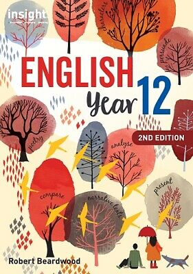 VCE English Year 12 2nd Edition by Insight (2018) Brand New Print Version