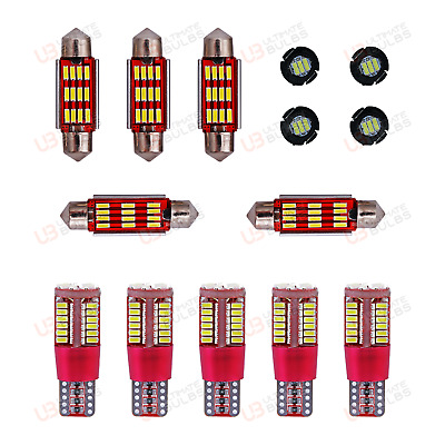Premium Super Bright - Jaguar X-Type - Interior LED SMD Light Kit - Xenon White