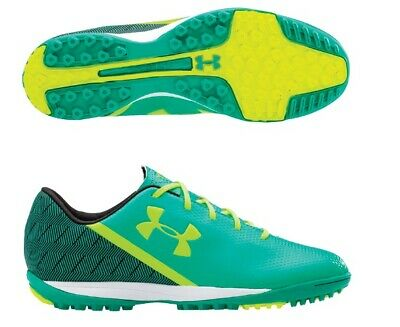 cc6c5f192 New Under Armour Mens 11.5 SF Flash TR Soccer Cleats Green Yellow Molded  Cleats