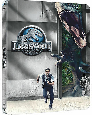 Jurassic World - Limited Rooney Mara Edition Steelbook (Blu-ray+UV Copy) NEU&OVP