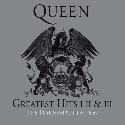 !!! QUEEN GREATEST HITS I II III The Platinum Collection 3 CD NEU OVP !!!