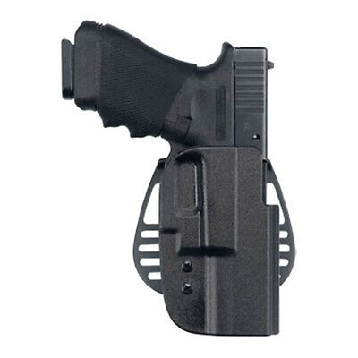 Uncle Mike Kydex Paddle 54222 Ot Hip Holster kydex Black Size 22 Lh W/Pba Clam