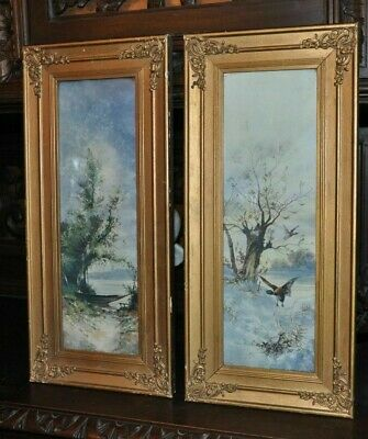 Lovely Pair of Antique Landscapes  Prints