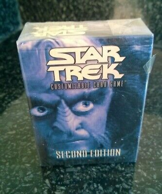 Star Trek  CCG's Second Edition Klingon Preconstructed Starter Deck Sealed