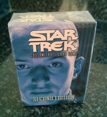 Star Trek  CCG's Second Edition Romulan Starter Deck Sealed Shinzon Tom Hardy