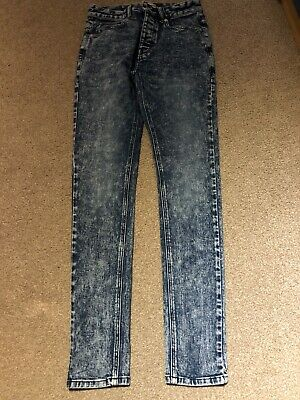 Men's Next Super Skinny Jeans Size 28R In Great Condition