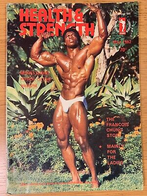 Bodybuilding magazine HEALTH AND STRENGTH May 1982