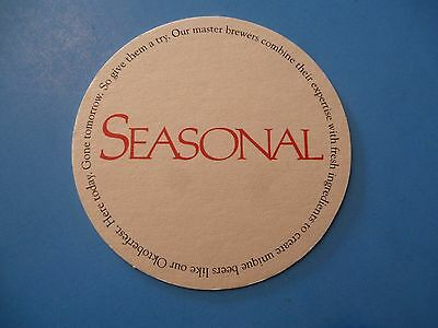 BEER Drink COASTER ~*~ SEASONAL ~*~ Additional Coasters Only $0.25 S&H Worldwide