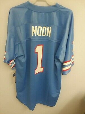 180913e953f VTG WARREN MOON Houston Oilers Jersey Russell Athletic Authentic Pro ...