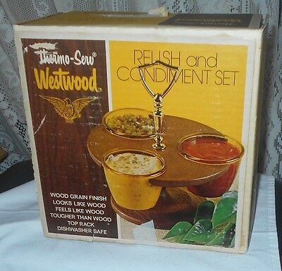 Westwood Thermo Serv Relish and Condiment Set