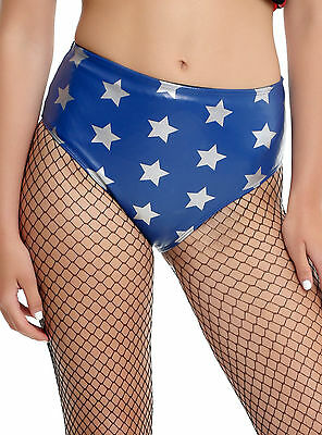 DC Comics Wonder Woman Star Hot Pants Faux Leather Officially Licensed S-2X NWT