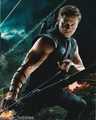Punctual Jeremy Renner Signed 8x10 Photo Autograph W/ Coa Entertainment Memorabilia Television