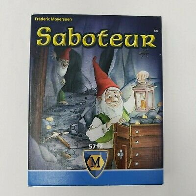 Saboteur Card Game Amigo Games Edition Dwarf Mining Family Party AGI 5712
