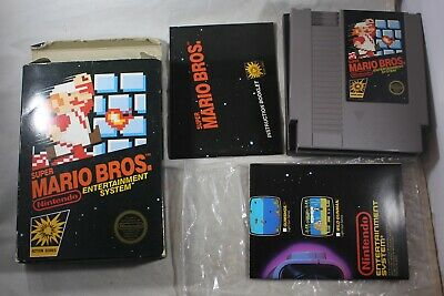Super Mario Bros CIRCLE (Nintendo NES) Complete in Box GREAT