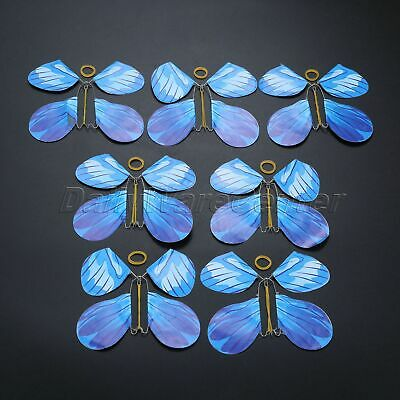 7x Vivid Butterfly Stage Magic Trick Magician Prop Prank Toy Great Surprise Gift