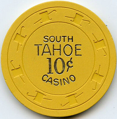 South Tahoe Casino - Lake Tahoe, NV - 10c - 1966