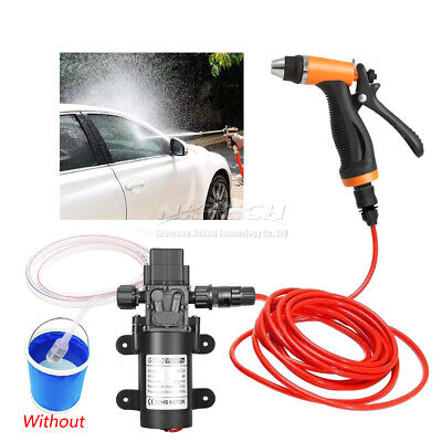 12V High Pressure Washer 5Mode Spray Gun Car Electric Wash Water Pump 100W Kits