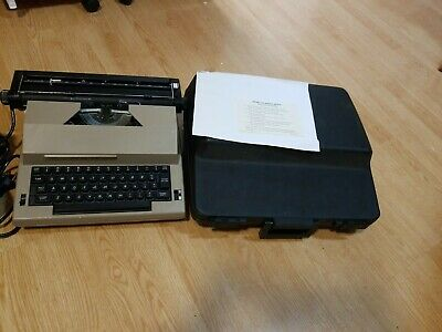 f099a72f02 Vintage Sears The Electric 2 Typewriter 161 53150 With Correction & Case .  Works