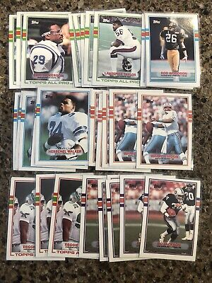 1988 Topps Football Hall Of Fame Lot (30) White Taylor Walker Moon