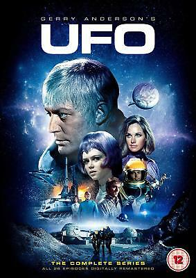 UFO: The Complete Series Volumes 1 2 3 4 5 6 7 8 Box Set Gerry Anderson DVD
