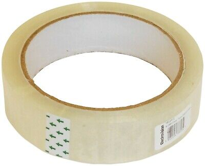 "Clear Packing Tape Cellotape Sellotape 25Mm 1"" X 66M"