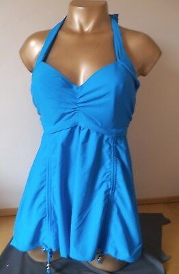 Gorgeous Quality Padded Swimdress Tankini Top Chest Sizes 38 - 48 C/D/DD Cup NWT