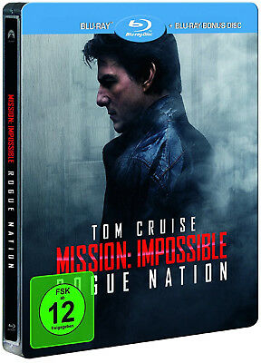 Mission: Impossible - Rogue Nation - Limited Edition Steelbook Cover B (Blu-ray)
