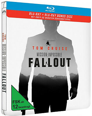 Mission: Impossible - Fallout - Limited Steelbook Edition (Blu-ray) NEU&OVP!