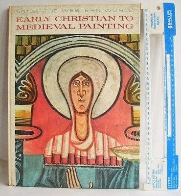 EARLY CHRISTIAN TO MEDIEVAL PAINTING 1963 Carlo Volpe Paul Hamlyn LARGE book VGC
