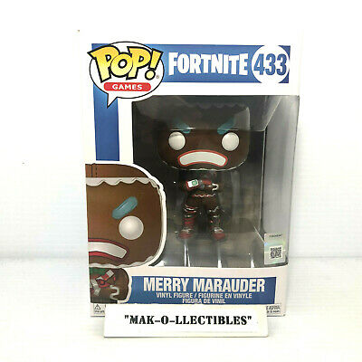 Funko Pop! Games Fortnite Merry Marauder #433 Vinyl Figure