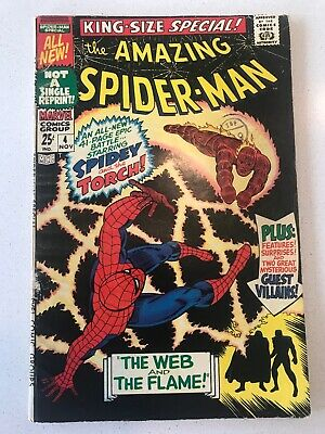 Amazing Spider-Man Annual #4 -Web And The Flame