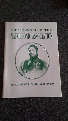 Journal Of The Napoleonic Association Second Series No.11 Autumn 1989 Magazine