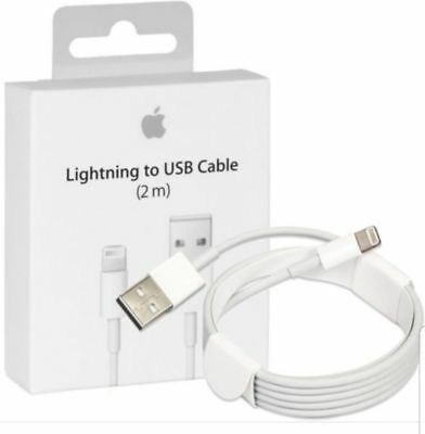 2 Meter Charger,USB Cable for iPhone 6S 6 7 8 iPad X Air SE 5S 5C