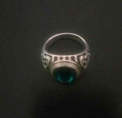 ancient viking ring metal color silver / artifact amazing