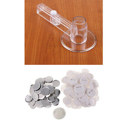 Badge & Button Makers Circle Cutter with Button Parts - 58mm, Round