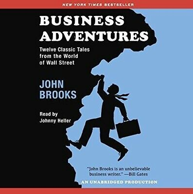 Business Adventures By John Brooks - AUDIOBOOK (e-Delivery)